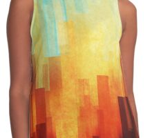 Urban sunset Contrast Tank