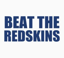 New York Giants - BEAT THE REDSKINS - Blue by MOHAWK99