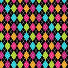 Colorful Argyle by BuzzEdition