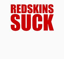 New York Giants - REDSKINS SUCK - Red Unisex T-Shirt