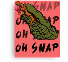 Oh Snap Canvas Print