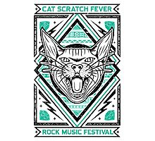 Cat Scratch Photographic Print
