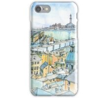 Il Porto (view of Genoa) iPhone Case/Skin
