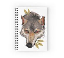 Wolf Head Spiral Notebook