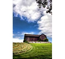 The Swallow Barn Photographic Print