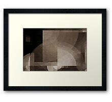 Schism at 1 a.m. Framed Print