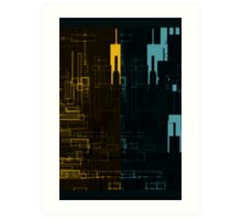 West Side Stories Art Print