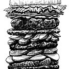 Hamburger Plus! by Mike Cressy