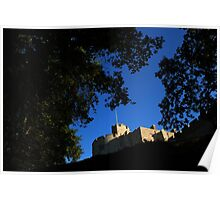 Chirk Castle at sunrise Poster