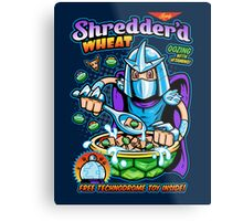 Shreddered Wheat Metal Print