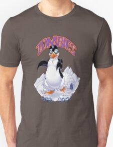 Zombies Are Cool - Necromancer Penguin Unisex T-Shirt