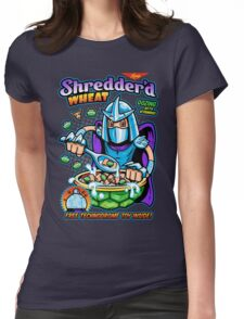 Shreddered Wheat Womens Fitted T-Shirt