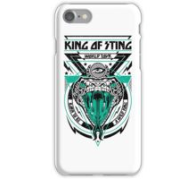 King of Sting iPhone Case/Skin