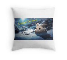 poro pillow Throw Pillow