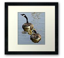 If You Kids Don't Knock it Off... Framed Print