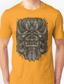 Filigree Leaves Forest Creature Beast Vintage Variant Unisex T-Shirt