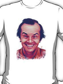 Smiling young Jack Nicholson digital painting T-Shirt