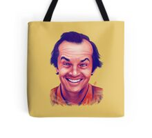 Smiling young Jack Nicholson digital painting Tote Bag
