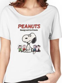 Snoopy And Friends Women's Relaxed Fit T-Shirt