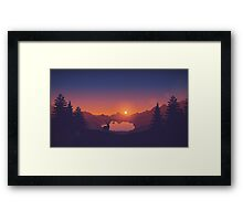 Nothing Else Framed Print