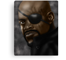 Nick Fury Canvas Print