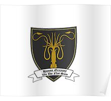 House Greyjoy Simple T Poster