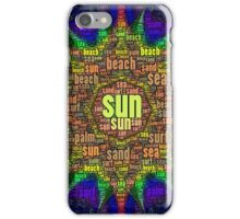 Sun Surf and Sand iPhone Case/Skin