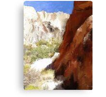 Serenity in the Desert Canvas Print