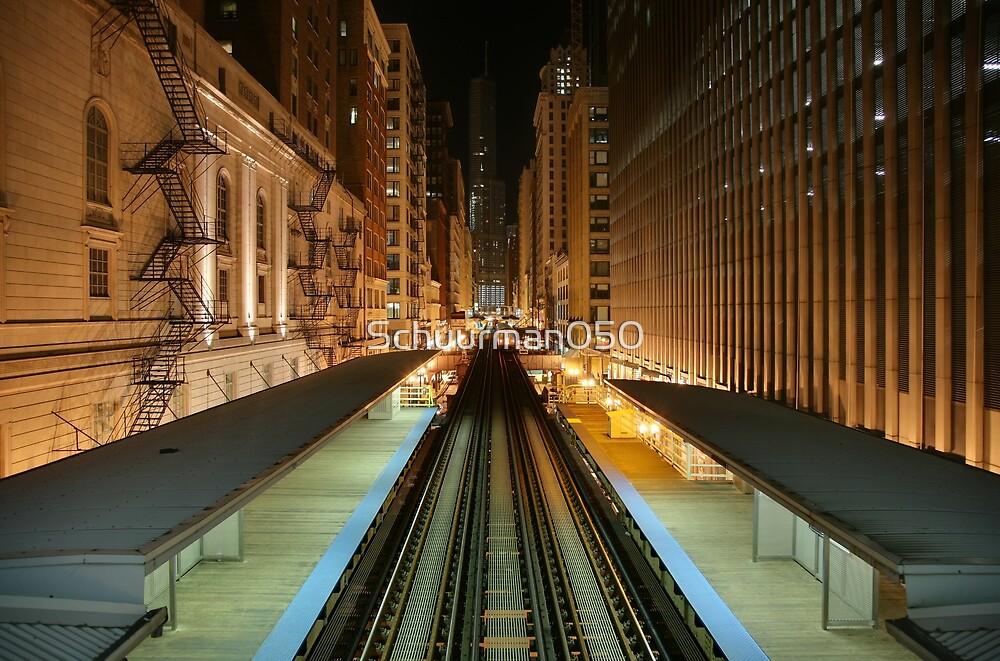 Subway Chicago by Schuurman050