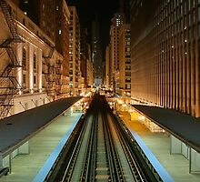 Subway Chicago by Schuurman050