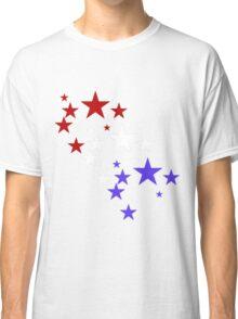 Red White Blue Stars Classic T-Shirt