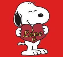 Snoopy Fans love Kids Tee