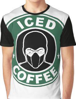 Mortal Kombat •Sub Zero •Iced Coffee Graphic T-Shirt