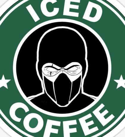 Mortal Kombat •Sub Zero •Iced Coffee Sticker