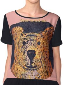 Bear With Me Chiffon Top