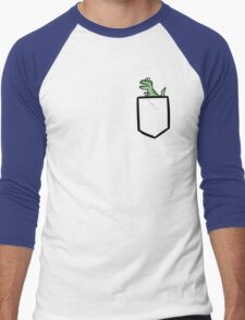 T-rex Pocket Men's Baseball ¾ T-Shirt