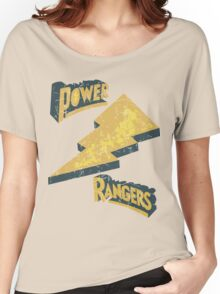 Power Rangers • Classic Logo  Women's Relaxed Fit T-Shirt