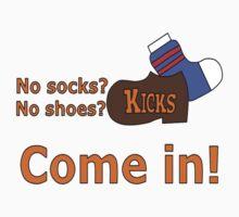 Kicks Show Store Logo Kids Clothes