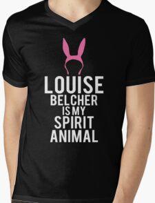 Louise Spirit Animal Mens V-Neck T-Shirt