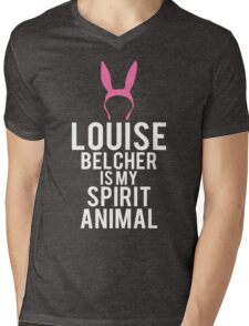 Louise Spirit Animal Mens V-Neck T-Shirt