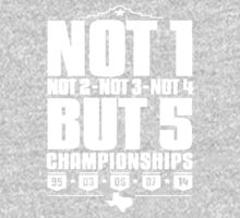 Not 1 but 5 Championships One Piece - Long Sleeve