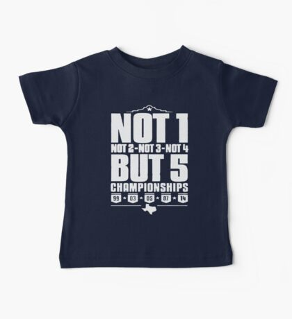 Not 1 but 5 Championships Baby Tee