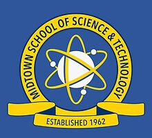 Midtown School of Science and Technology Logo by Vicener