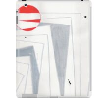 Pages and Drips Abstraction #2 iPad Case/Skin