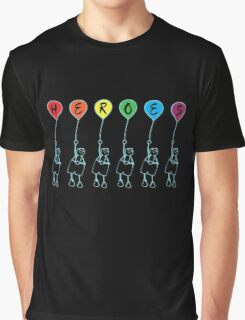 Måns Zelmerlöw - Heroes [balloon] Graphic T-Shirt
