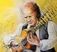 Paco de Lucia by Goodaboom
