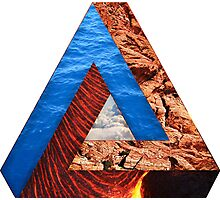 Elements of a triangle Photographic Print