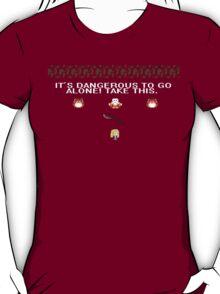 It's Dangerous to Go Alone, Buffy T-Shirt