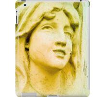 Hopeful and with great faith. iPad Case/Skin