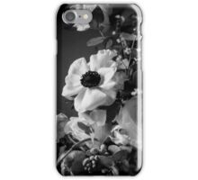 flower in black and white iPhone Case/Skin